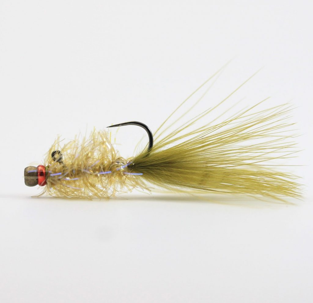 Pyramid Lake Balanced Leech - Martini Olive