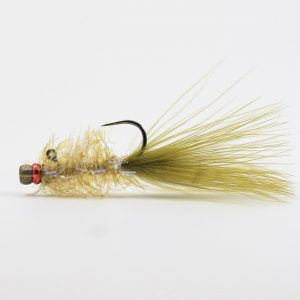 Pyramid Lake Balanced Leech – Martini Olive