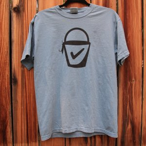 Gildan Garment Dyed Heavyweight T-Shirt – Ice Blue
