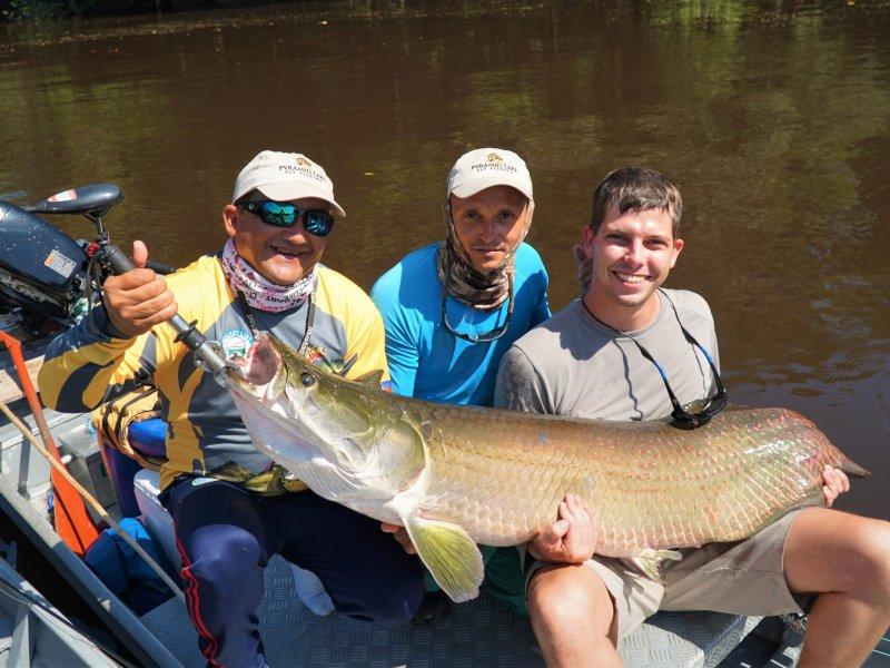 Arapaima for fishing trips block