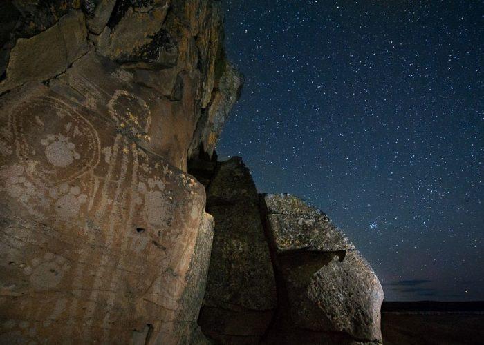 Petroglyphs under the Stars