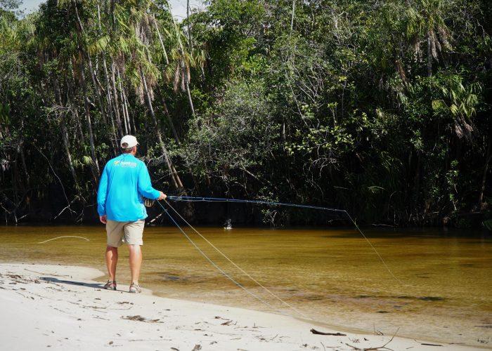 Sight Fishing Rio Novo