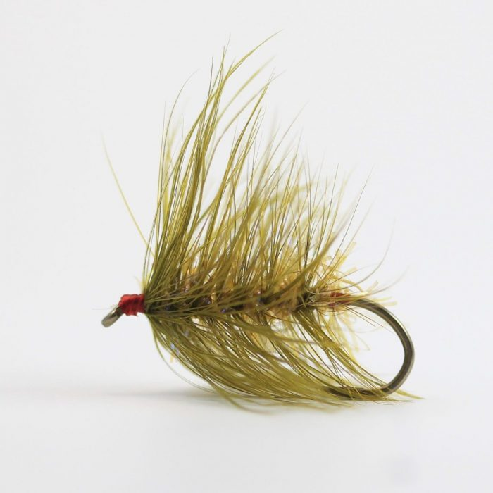 Wooly Worm - Martini Olive